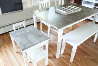 Concrete Table Top Project