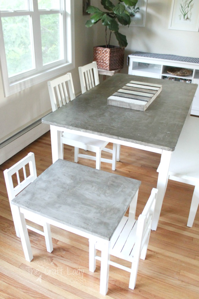A Step By Tutorial To Make Diy Concrete Table Top That Is