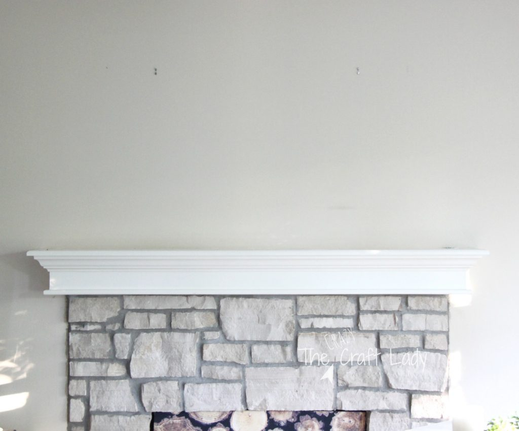 An easy mantel refresh for summer