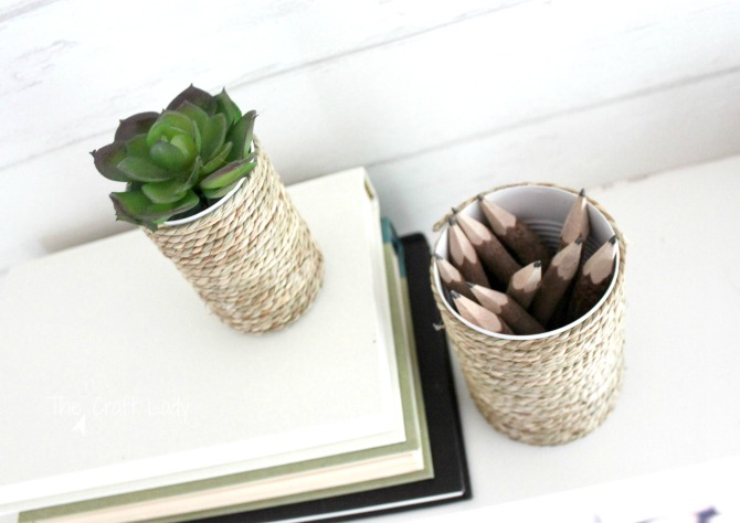 simple tin can craft with rope