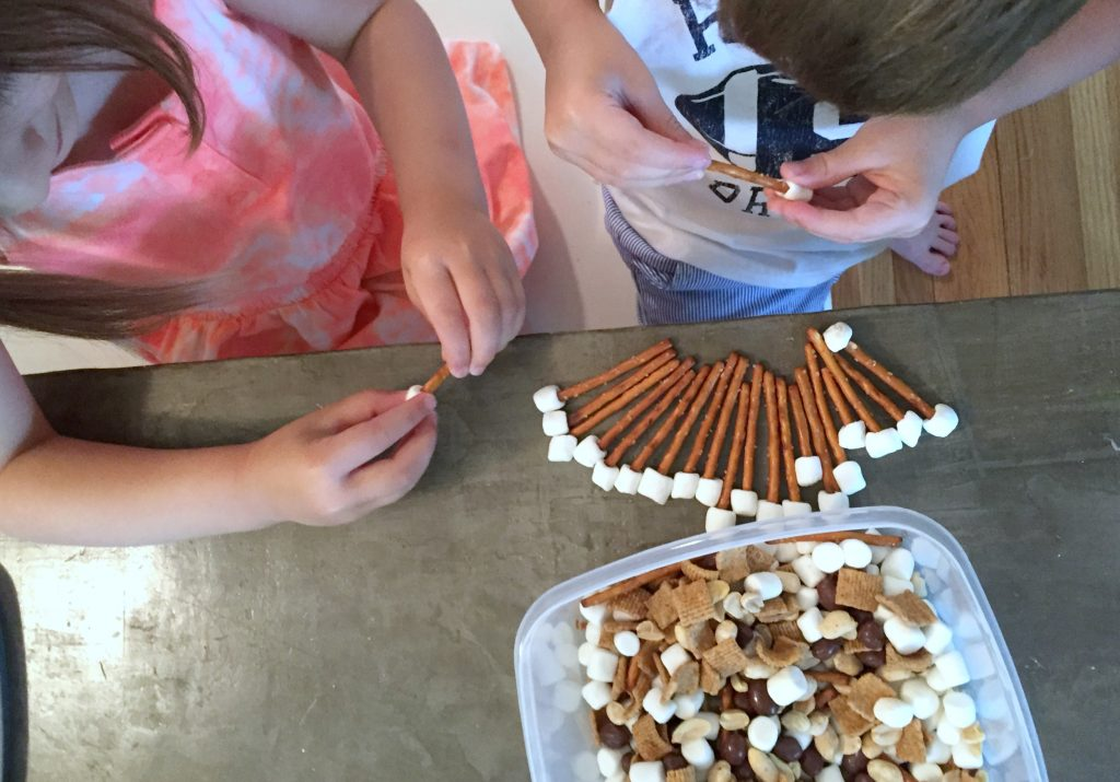 smores snack mix is a fun summer treat for the whole family