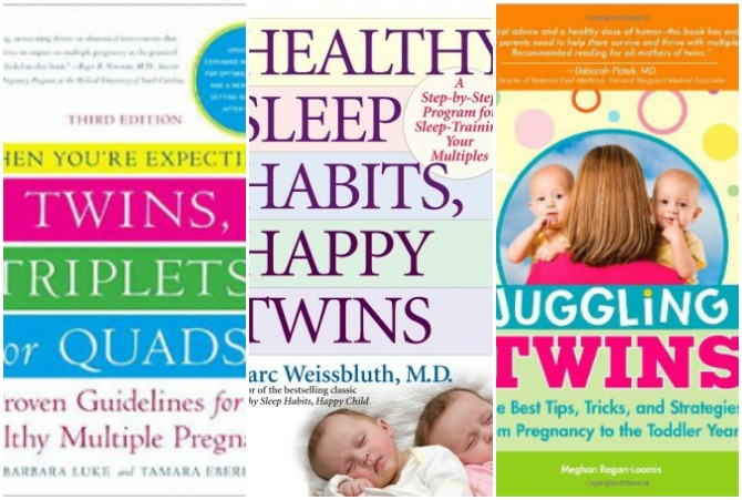 The Ultimate Reading List for Moms and Dads Expecting Twins