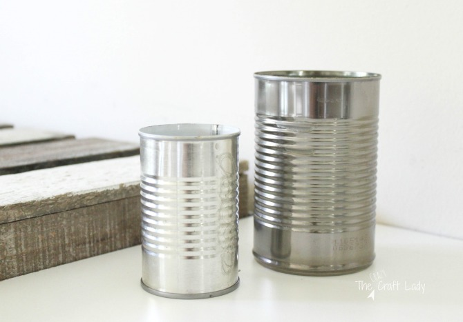 upcycle tin can craft