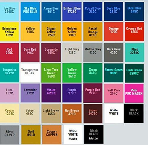 craft vinyl colors