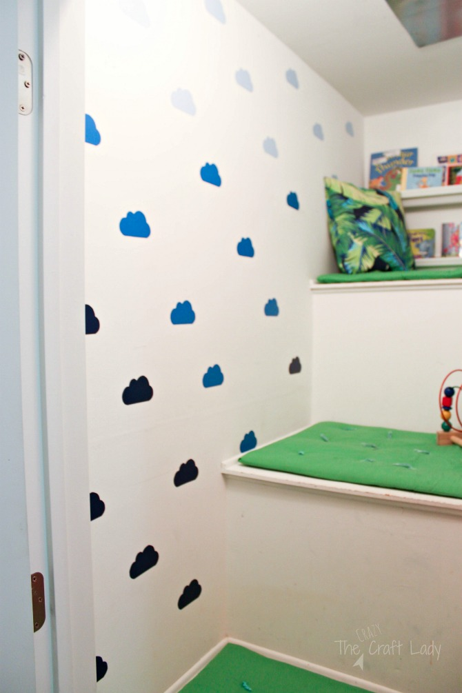 diy cloud wall decals how to make custom wall decals in any shape or color