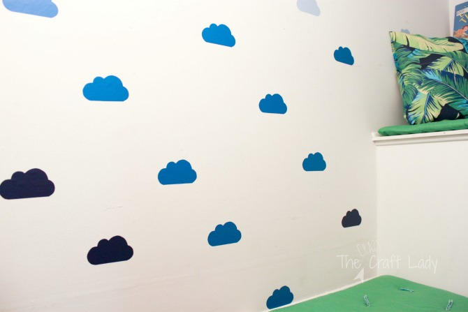 DIY Cloud Wall Decals   How To Make Custom Wall Decals Part 78