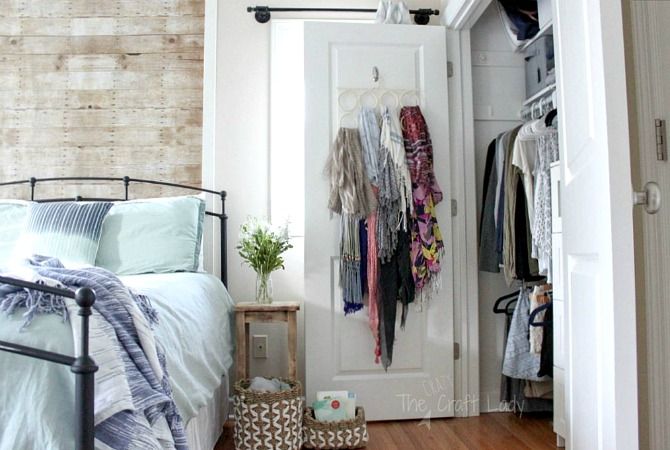 Small Closet Organizing 40 The Crazy Craft Lady Impressive Organizing A Small Bedroom