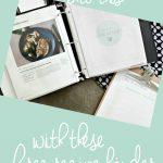 Organize your recipes once and for all - download these FREE recipe binder and meal plan printables from The Crazy Craft Lady