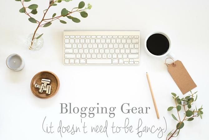 The Right Blogging Equipment
