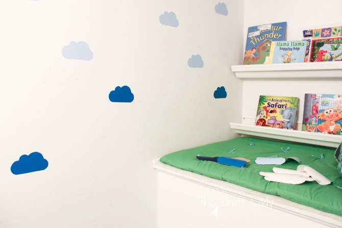 Tutorial - how to make DIY wall decals in any shape