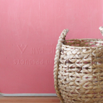 make a custom color chalkboard with colored chalkboard paint
