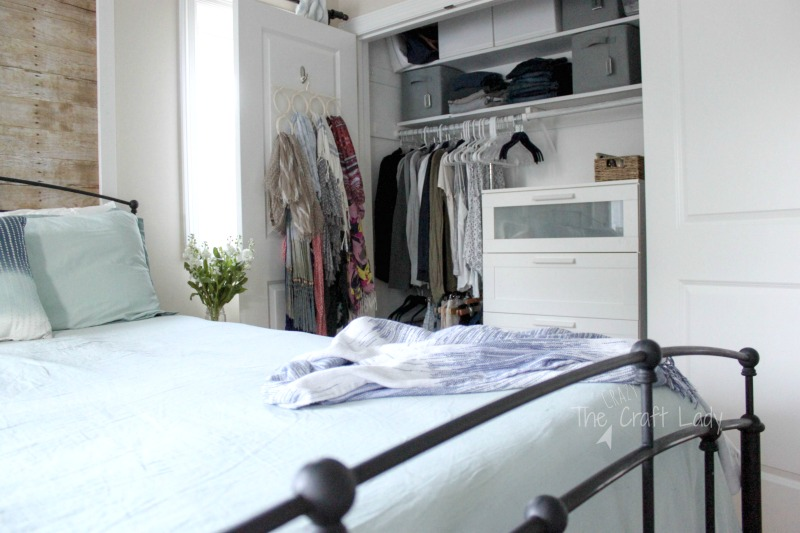 small closet organizing tips and tricks