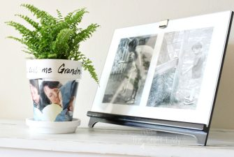 Photo Gift – Clay Pot Craft