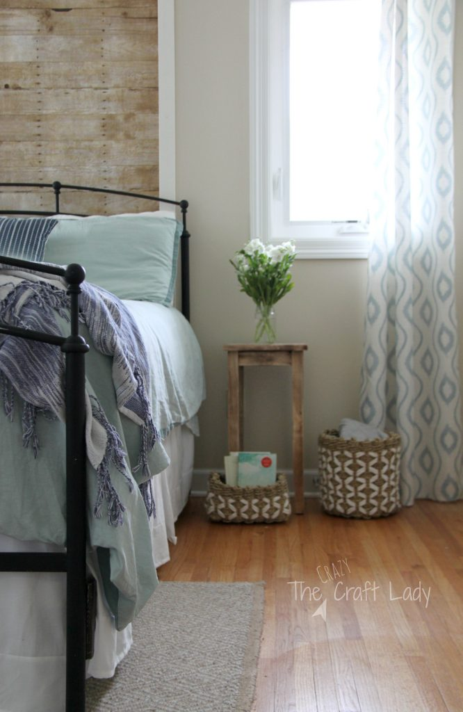 How to make a faux plank wall that is rental friendly and damage free