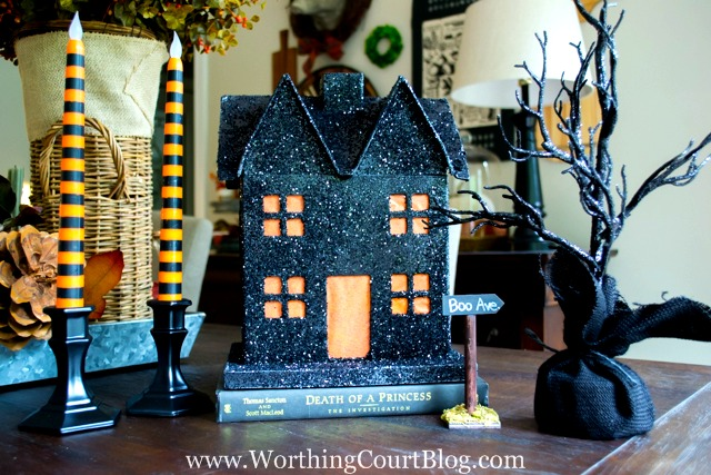 Pottery Barn Halloween House