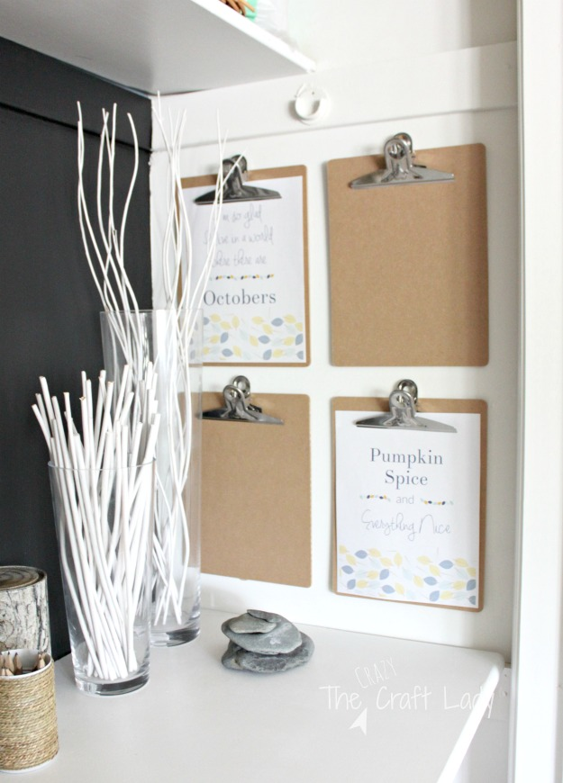 Two Free Fall Printables - perfect for gallery walls