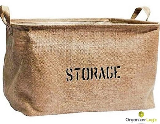 decorative storage carry all
