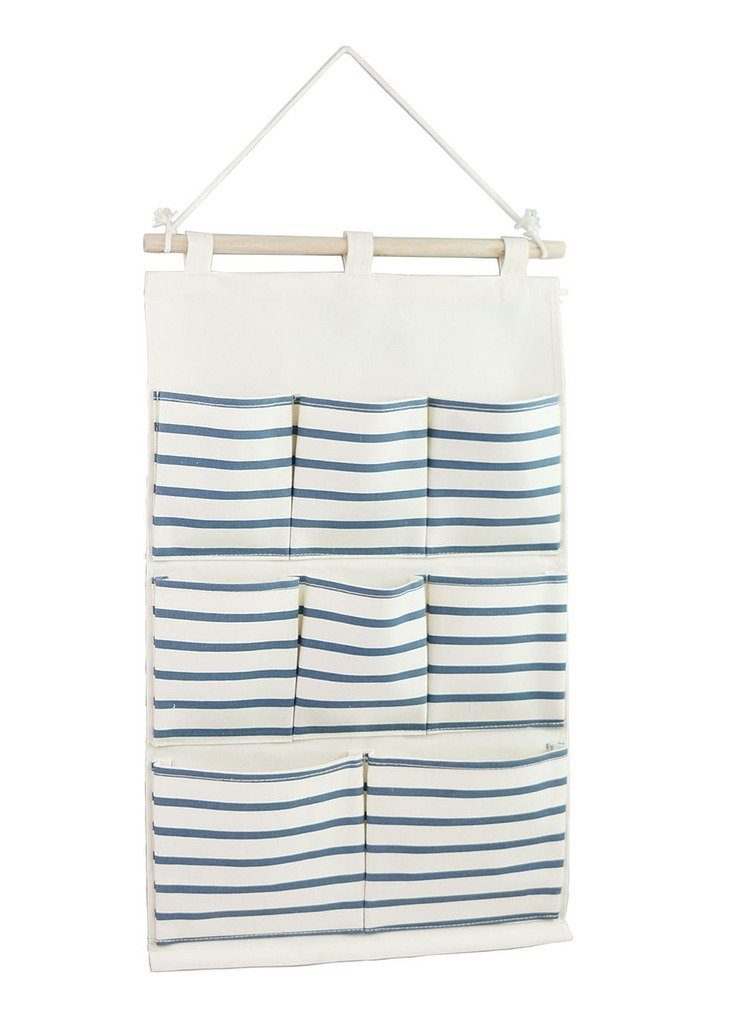 decorative storage hanging linen organizer
