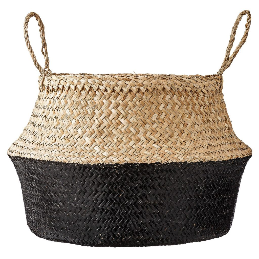 decorative storage two-tone basket