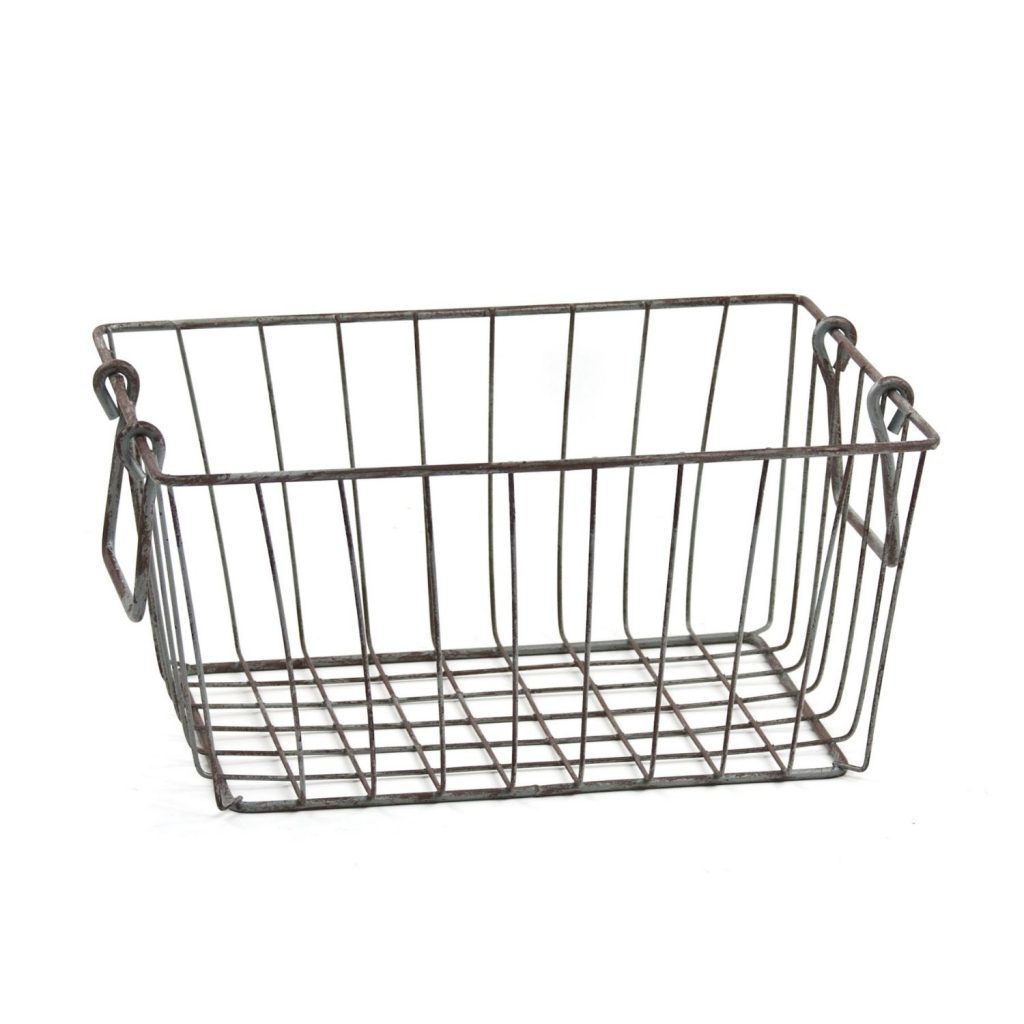 decorative storage - wire baskets