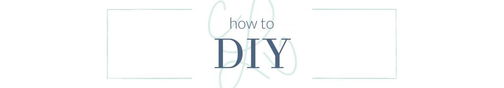 how to DIY