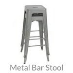 metal bar stool