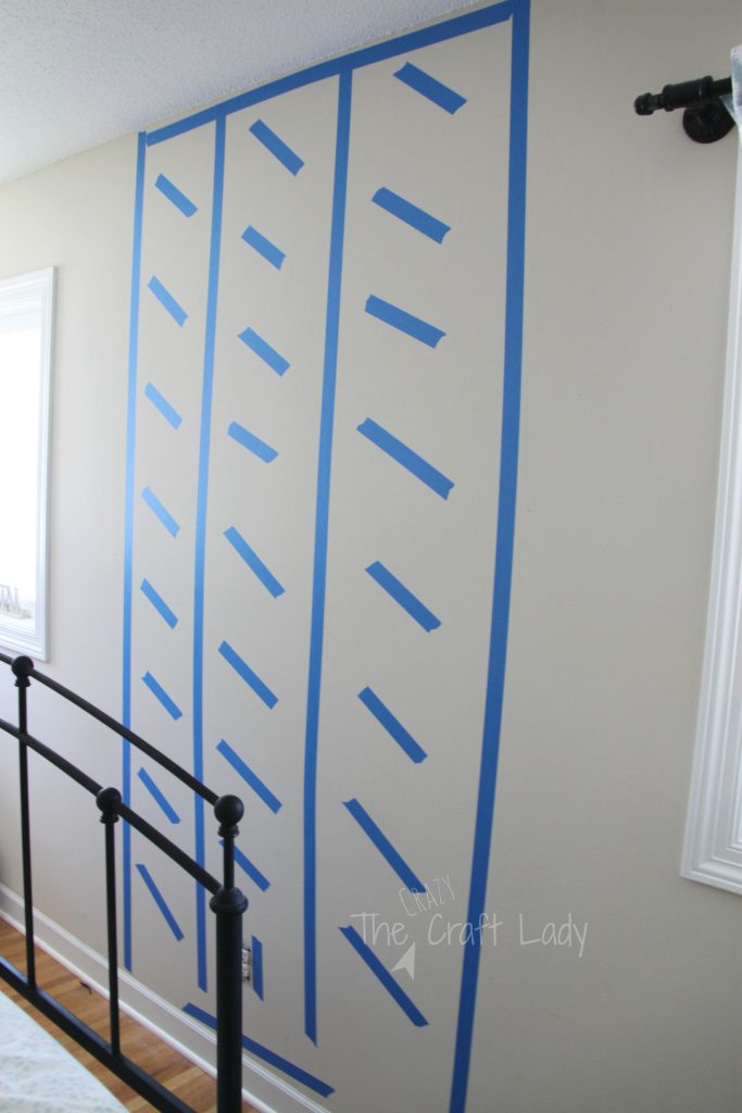 tutorial -how to make a faux plank wall