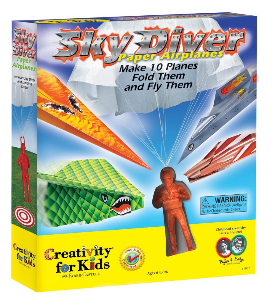 creativity-for-kids-sky-diver-paper-airplanes