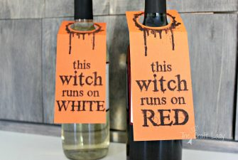 Halloween Wine Labels