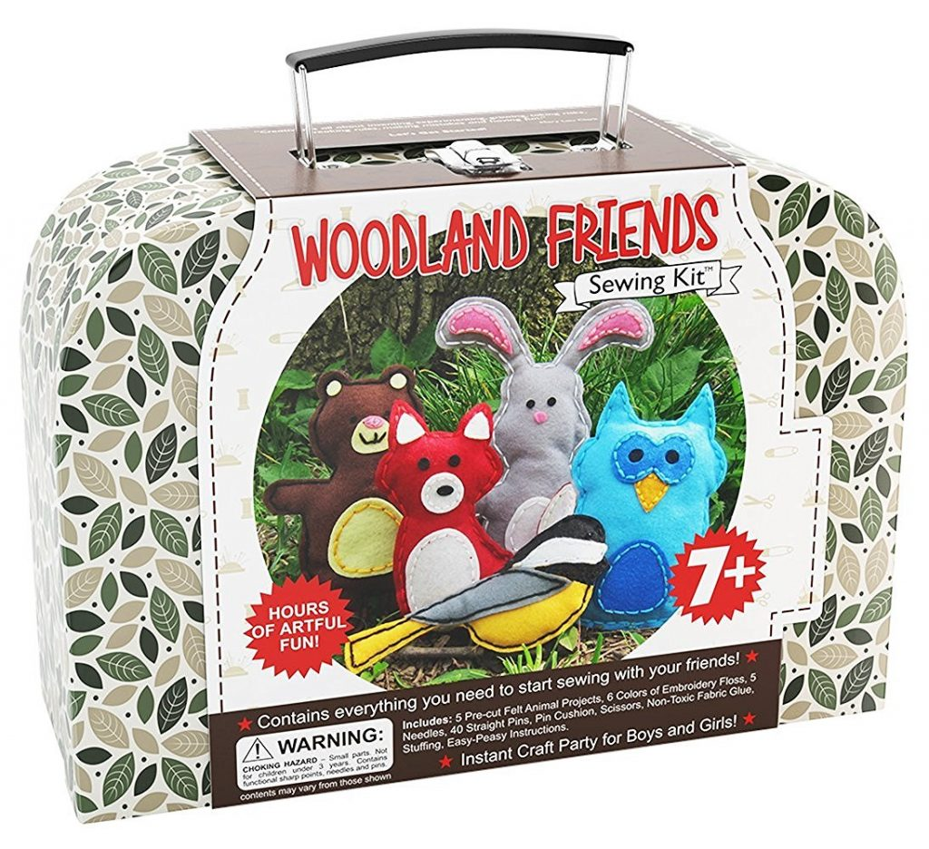 woodland-animals-craft-kids-sewing-kit