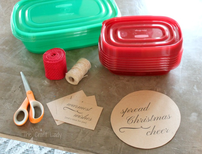 Free printable holiday treat labels