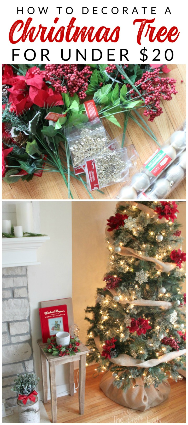 Dollar store christmas decorations how to get the most for Cheap christmas decoration ideas