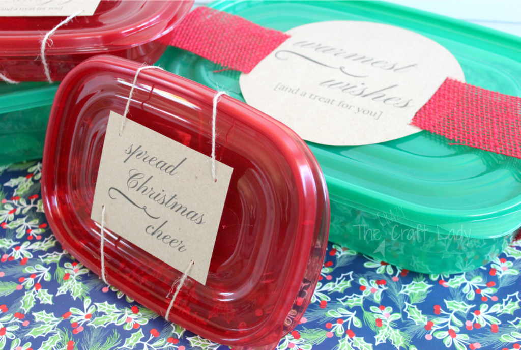 Printable Holiday Treat Labels - for gift giving and holiday baking