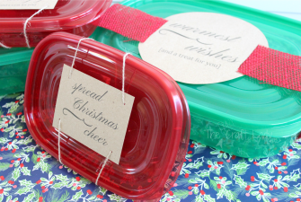 Holiday Treat Labels – Share the Holiday