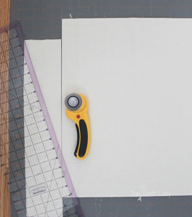 Tutorial - How to make fabric napkins