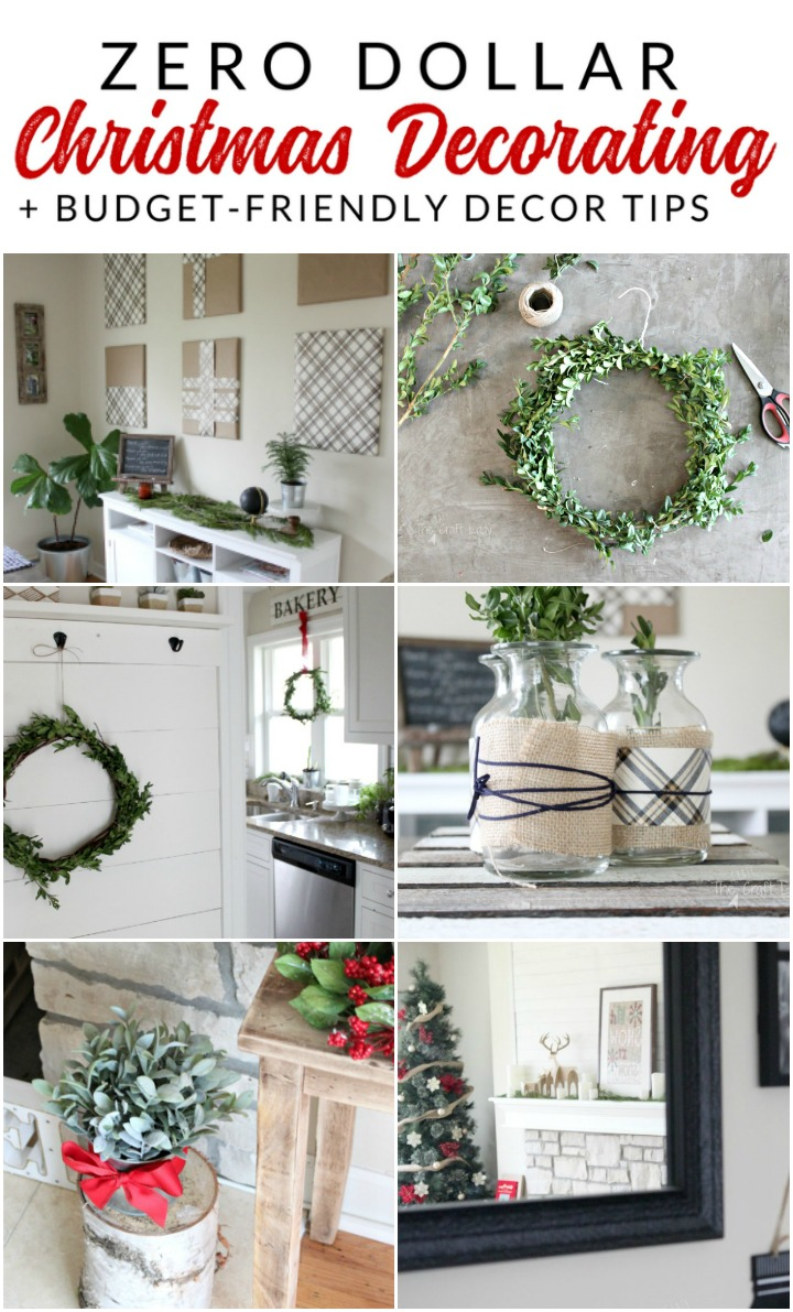 these are my top tips for inexpensive christmas decor this year some of which cost