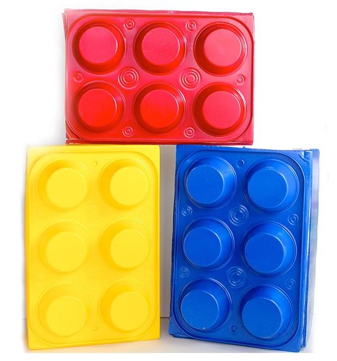 DIY dollar store lego boxes