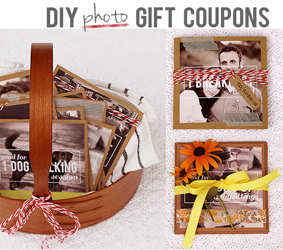 DIY Photo Gift Cards + DIY photo gifts that are perfect for everyone on your list