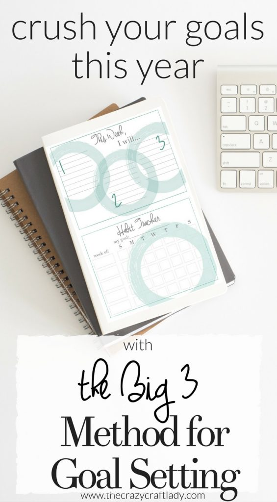 FREE Goal Setting Printables - Habit and Goal Printables