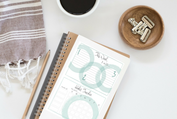 Habit and Goal Printables – a Freebie