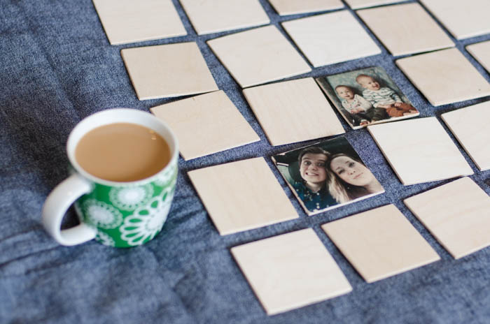 Photo Memory Game - DIY photo gifts that are perfect for everyone on your list