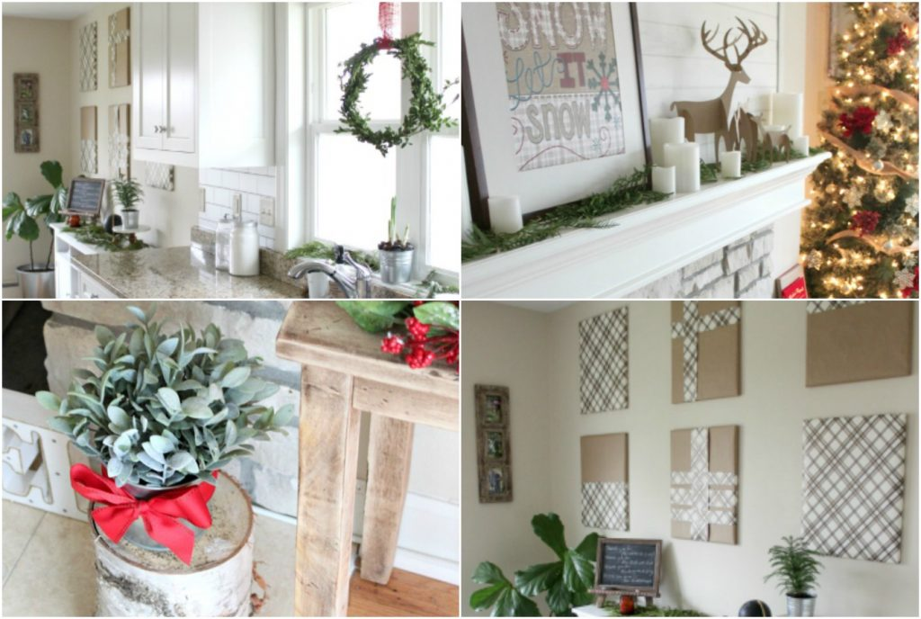 tips for inexpensive christmas decor farmhouse christmas