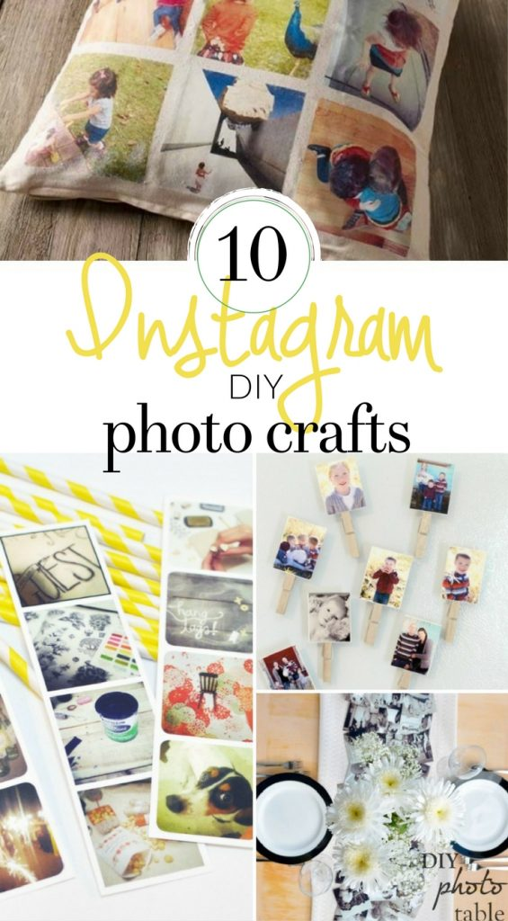 DIY Instagram Photo Crafts - how to use instagram photos