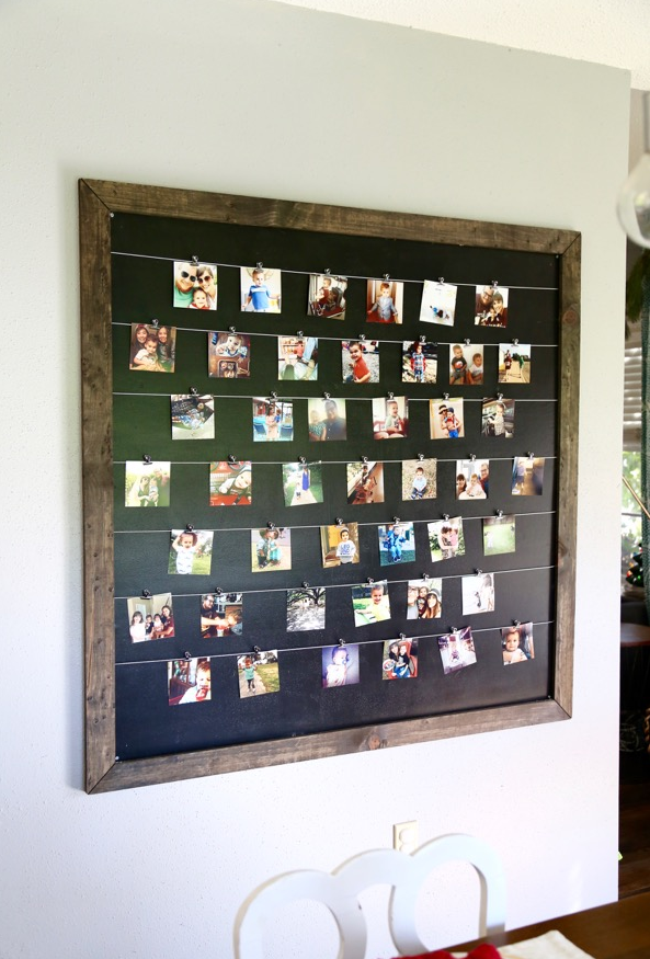 The best instagram wall displays the crazy craft lady - Photo decoration on wall ...