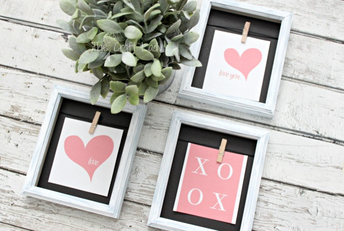 dollar store picture frames and free valentine printables how to update cheap picture frames with