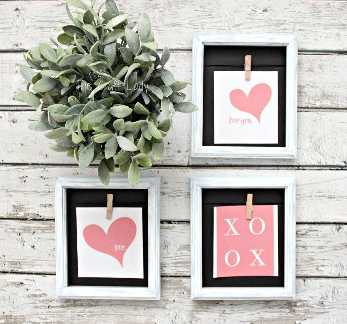 Dollar Store Valentine's Day Crafts - my favorite Valentine inspired projects