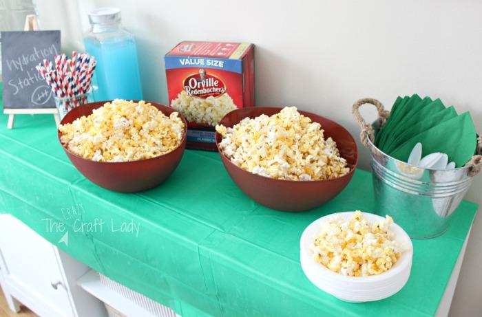 Football Popcorn Party