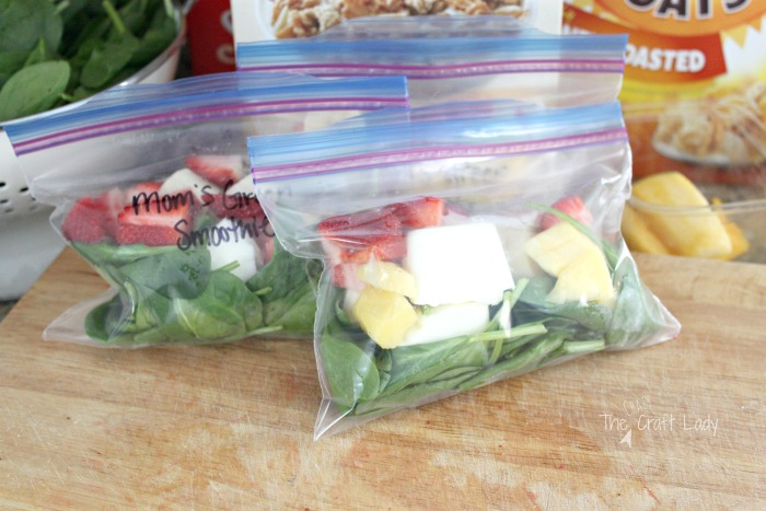 Make Freezer Smoothie Packs for easier morning routines and a quick breakfast