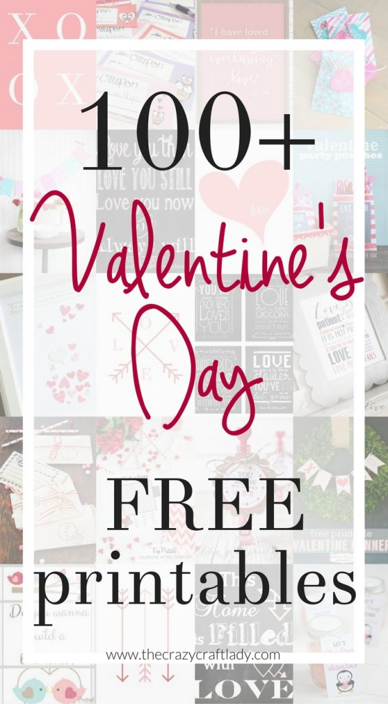 The best FREE Valentine's Day Printables - Valentine Printables and Cards