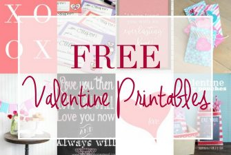 Loads of FREE Valentine Printables